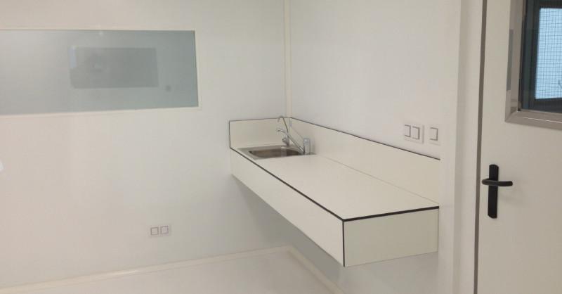Encimera laboratorios labeic