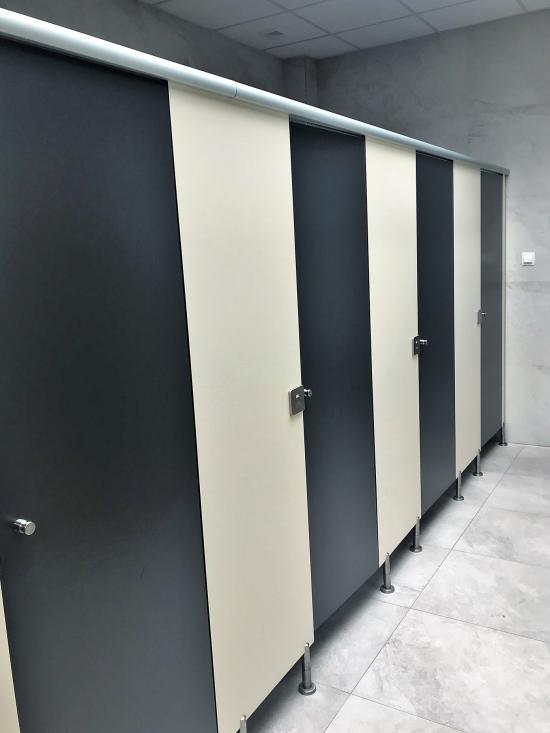 Cabina Basic bicolor Crema-Negro