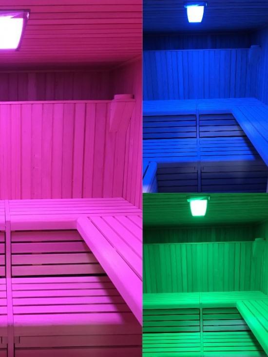 Cromoterapia Sauna