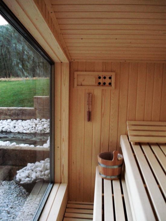 Sauna panorámica