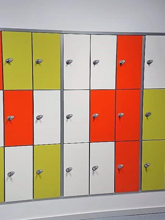 Taquillas  P3 Combinación colores