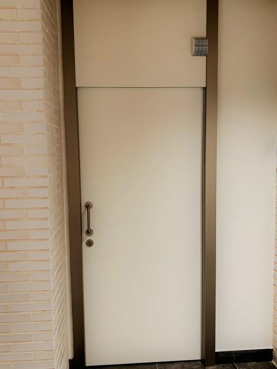 Puerta Integral con altillo