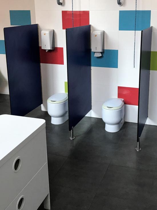 Separadores compactos WC Infantiles