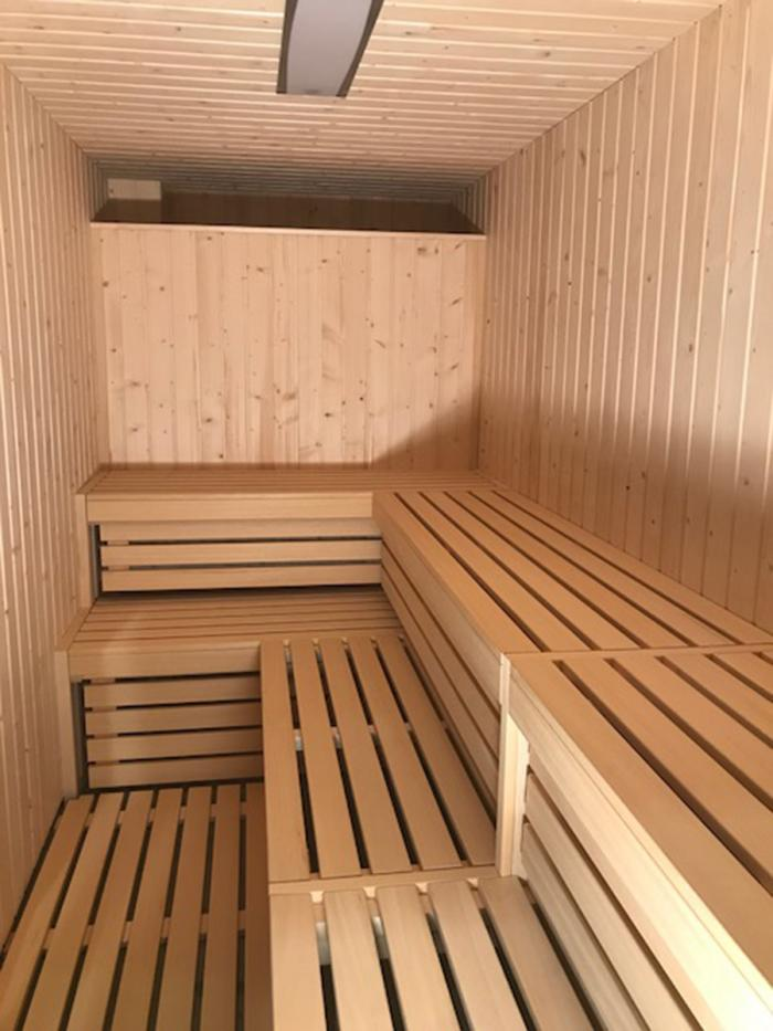Sauna polideportivo Guijuelo