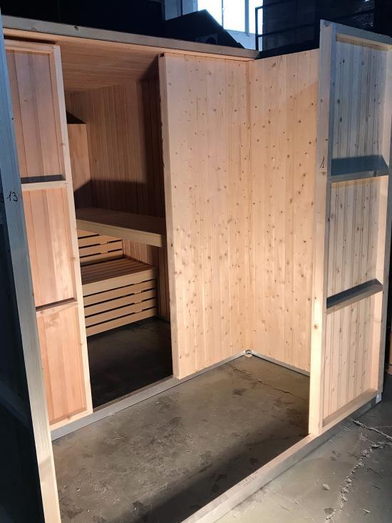 Fabricación de saunas