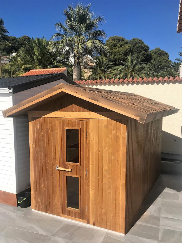 Sauna Exterior Óscar Altea